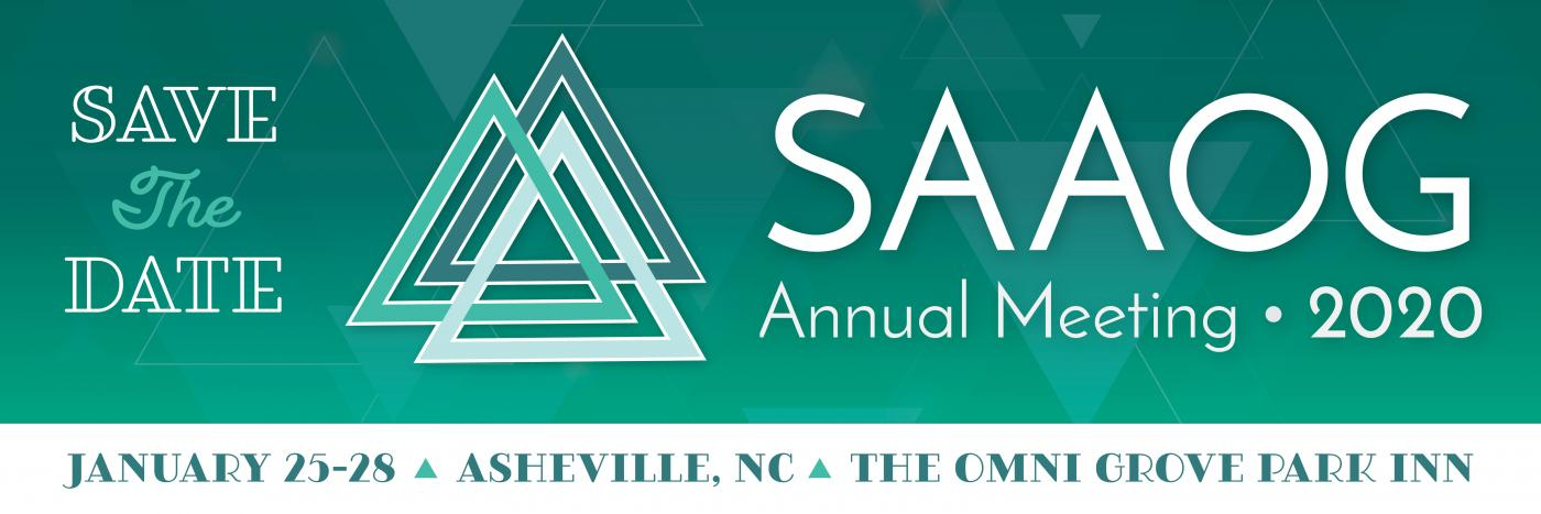 2020 SAAOG Annual Meeting | South Atlantic Association of